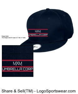 New Era - Flat Bill Adjustable Cap Design Zoom